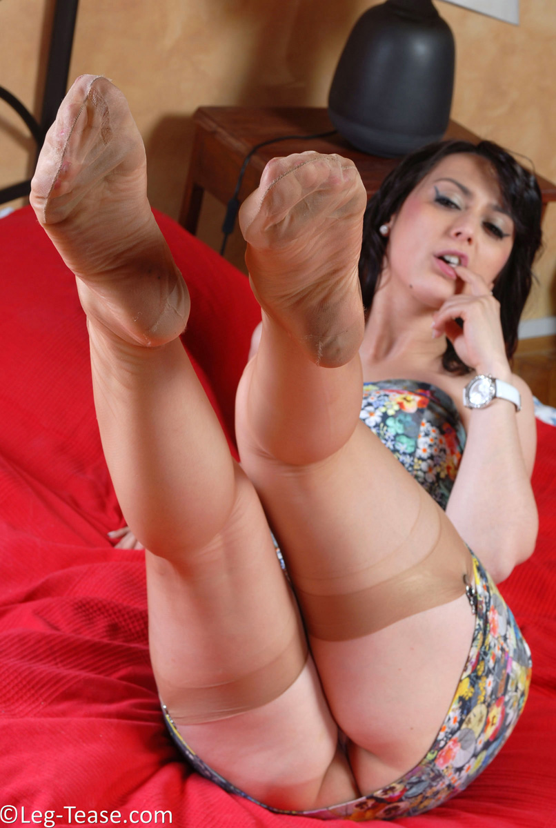 Are not only tease nylons and legs confirm. All